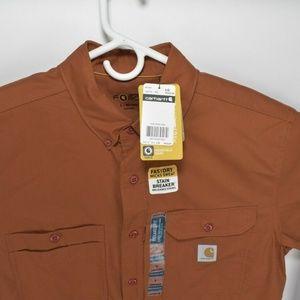 Carhartt Shirts - New Carhartt Men's Force Ridgefield Long Sleeve